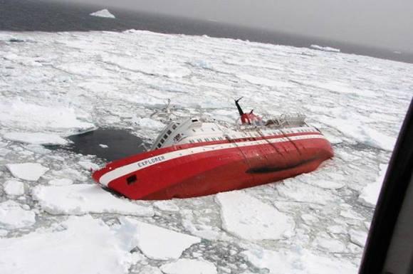 Antartika'da batan 1969 yapımı Explorer