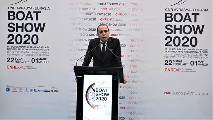 T.C. Ulaştırma ve Altyapı Bakanlığı Denizcilik Genel Müdür Yardımcısı Cem Erdem