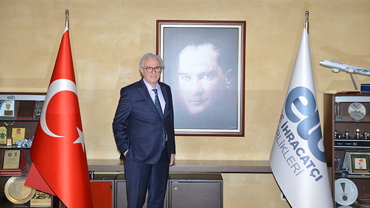 EİB Koordinatör Başkanı Jak Eskinazi