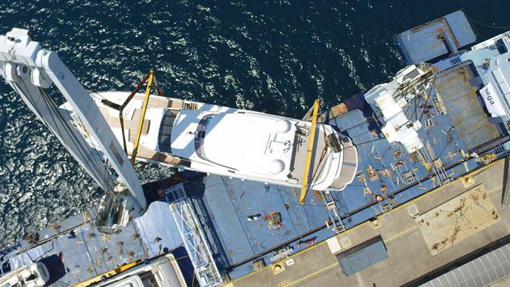 Mega Yacht Transport